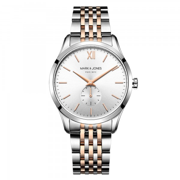 Mark & jones watch ladies silver Rosegold
