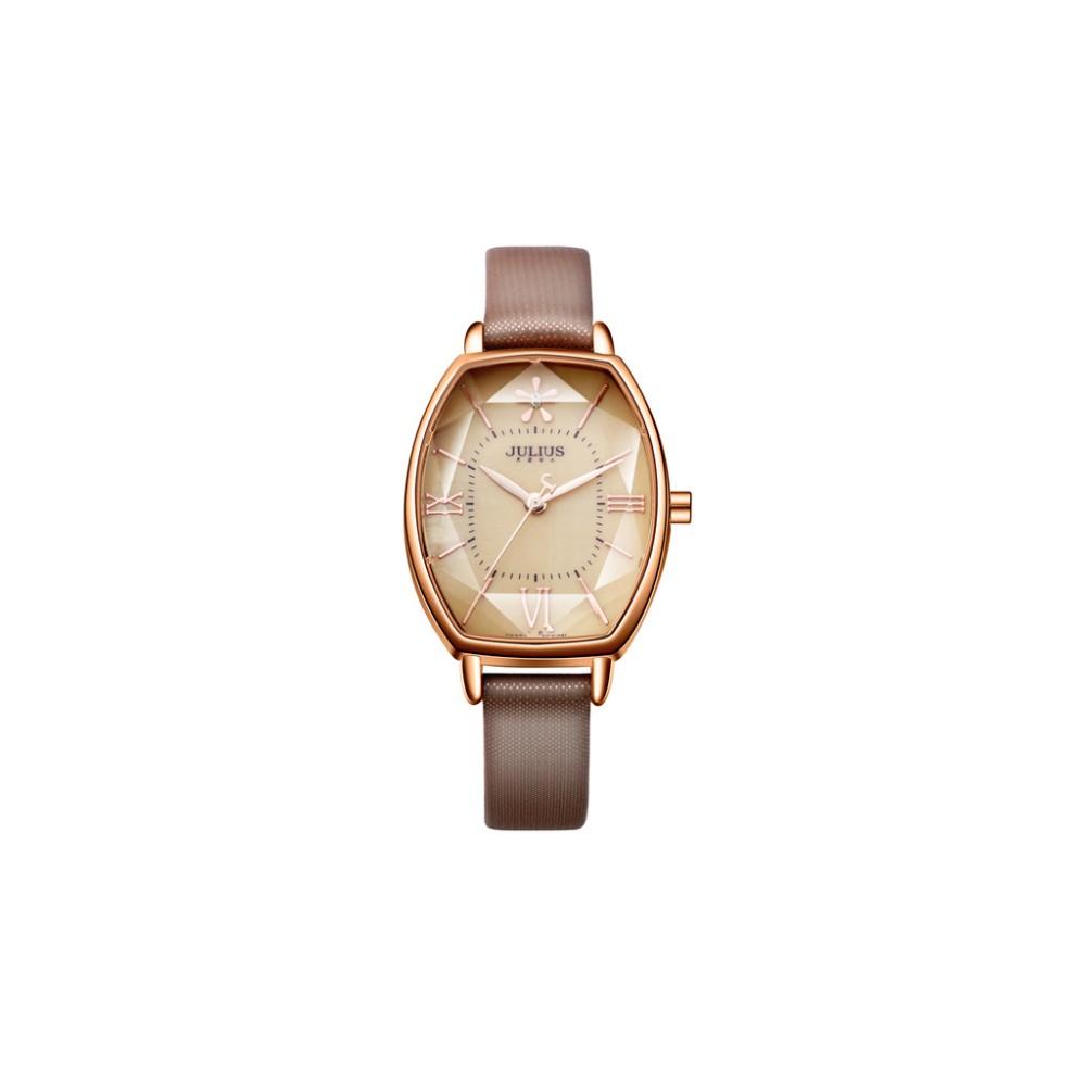 Julius Shape golden watch