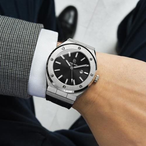 Paul Rich Carbon læder ur