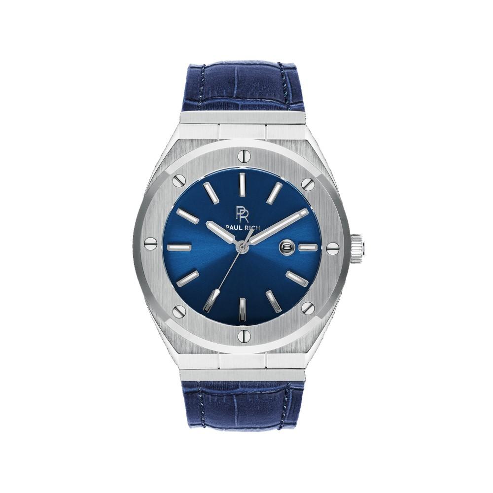Paul Rich Deep Dive blue leather watch