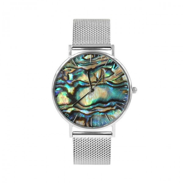 Laie silver watch