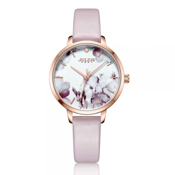 Julius - Fashion Flower Rosa watch