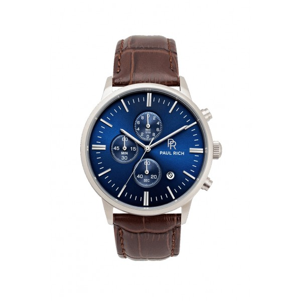 Paul Rich - Mariner Brown Leather watch