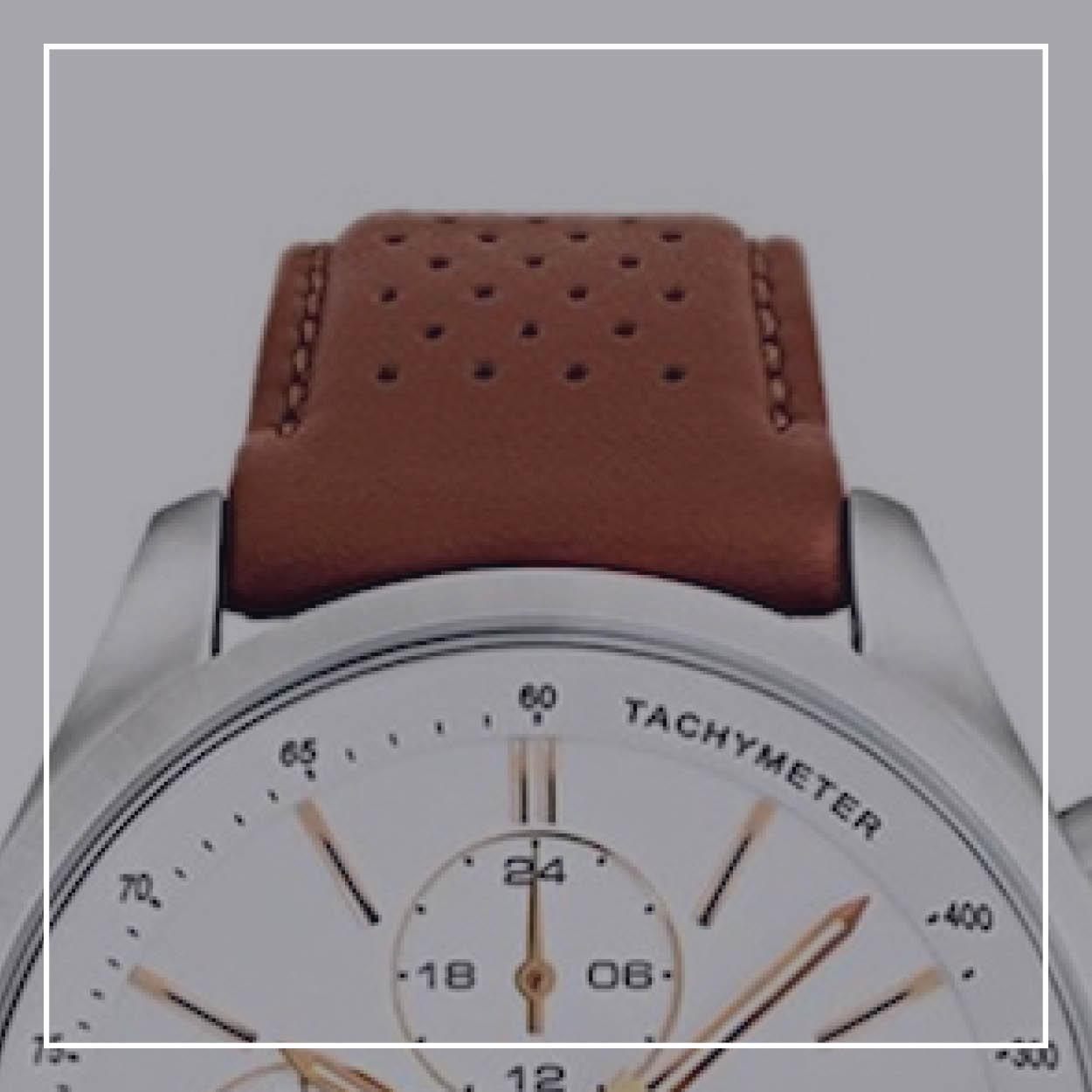 Ure med læder